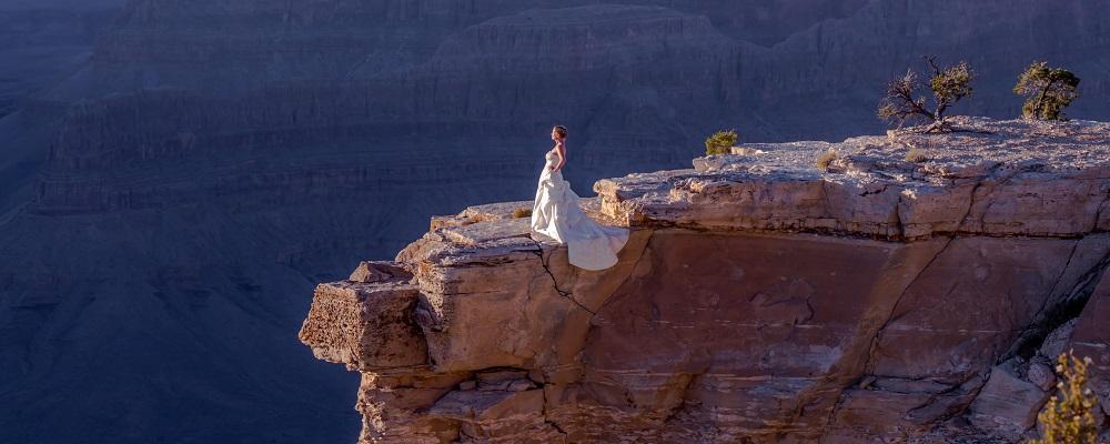 Grand Canyon Bride
